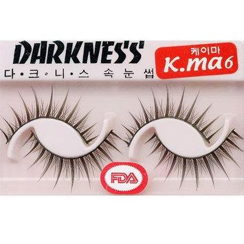 Darkness False Eyelashes K-ma 6 [Kma 6]
