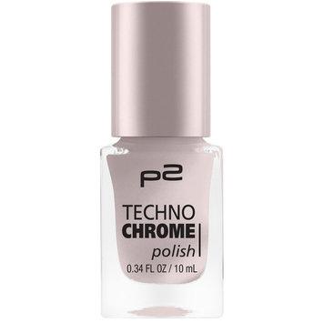P2 Techno Chrome Nail Polish Frozen Rose