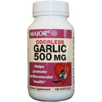 GARLIC 500MG 100 Softgels Odorless