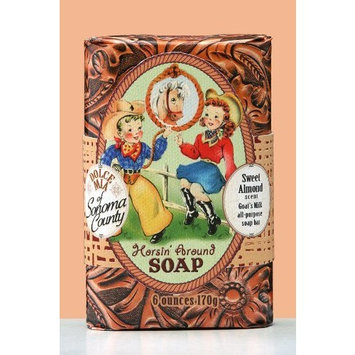 Dolce Mia Horsin' Around Sweet Almond Natural Soap Bar 6 oz.