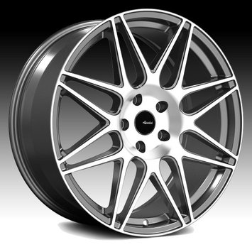 Advanti Racing CL Classe Machined Grey 20x10 5x120 30mm (CL0152030G)