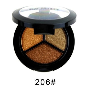 Eye Shadow HP95(TM) 3 colors Smoky Cosmetic Professional Natural Matte Makeup Eye Shadow