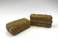American Diorama 23987 Hay Bale Accessory 2 Pieces Set for 1-24 Scale Models