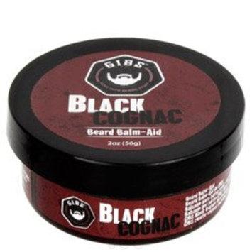 GIBS Black Kodiak Beard Balm-Aid, 2 Ounce