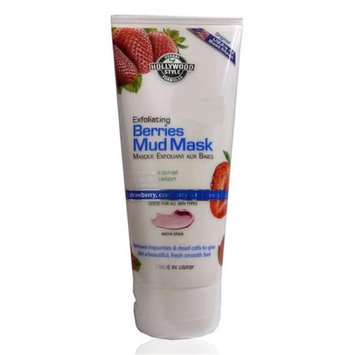 Hollywood Style 50300 Exfoliating Berries Mud Mask in Tube 150 ml