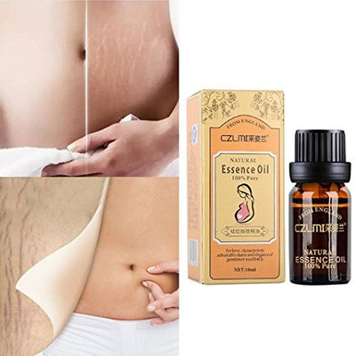 Hunputa 10ml Stretch Marks & Scar Removal Essential Oil for Pregnancy, Remove Wrinkles, Repair Scar Slack Line Abdomen