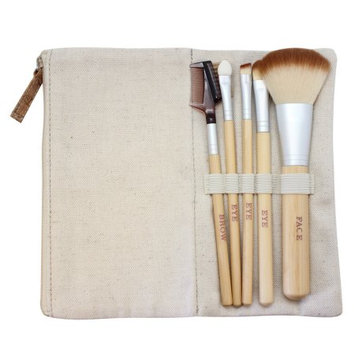 Danielle Large Bamboo Brush Set, 5 Ct