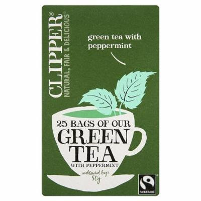 Clipper - Ft Green Tea with Peppermint   25 Bag