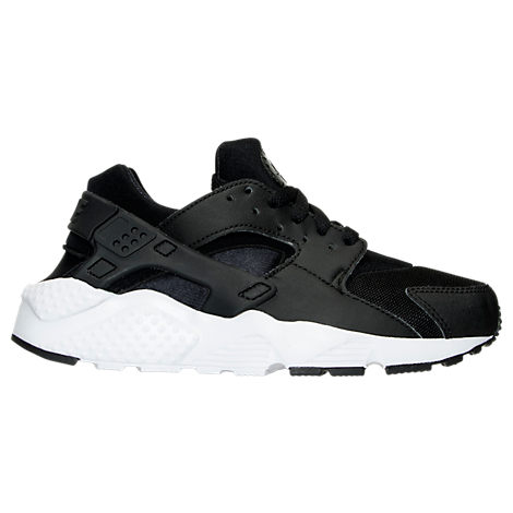 Nike Boys' Grade School Huarache Run Running Shoes, Boy's, Black