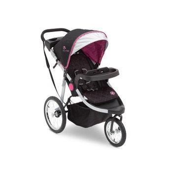Delt Children J is for Jeep Brand All-Terrain Jogging Stroller, Trek Pink Tonal