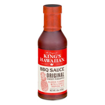 King's Hawaiian Bakery West, Inc. King's Hawaiian Original Sweet Pineapple BBQ Sauce, 15.0 OZ