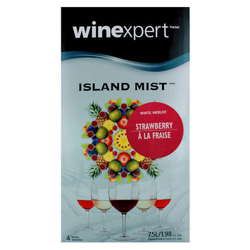Midwest Homebrewing and Winemaking Supplies Strawberry White Merlot (Island Mist)