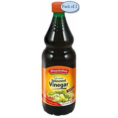 Hengstenberg Seasoned Vinegar, German, 25.4 Ounce (Pack of 2)