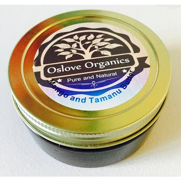 Whipped Mango and Tamanu body butter by Oslove Organics 5 oz- Soft silky butter with lavender and grapefruit essential oils