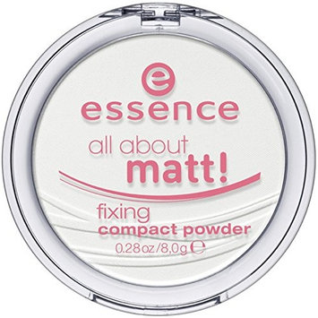 essence | All About Matt! Fixing Compact Powder | Translucent - For All Skin Tones and Types