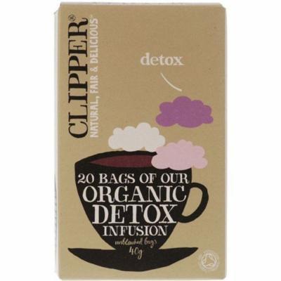 (12 PACK) - Clipper - Organic Detox Tea | 20 Bag | 12 PACK BUNDLE