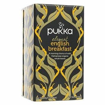 (3 PACK) - Pukka Elegant English Breakfast  20 Bags  3 PACK - SUPER SAVER - SAVE MONEY