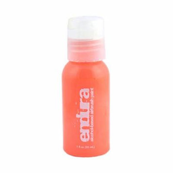 1oz European Body Art Fluorescent Orange ENDURA AIRBRUSH PAINT Temporary Tattoo