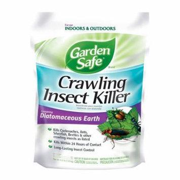 Garden Safe Diatomaceous Earth Crawling Insect Killer, 4 lb Bag