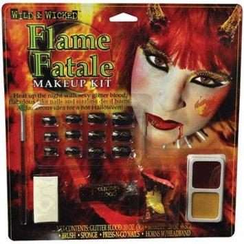 Halloween Flame Fatale Makeup Kit