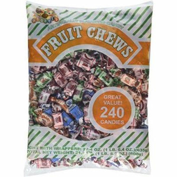 Albert's Son Fruit Chews, Assorted Flavors, 1.5-Lb Bag