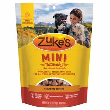 Zuke's Mini Naturals Roasted Chicken Dog Treats, 6 Oz