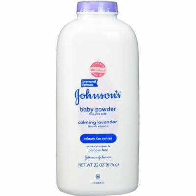 JOHNSON'S Baby Powder Calming Lavender 22 oz (Pack of 2)