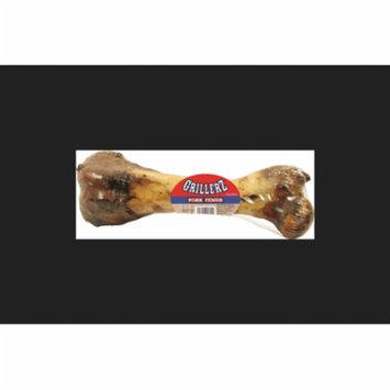 Scott Pet Grillerz AT66-1WPDQ Grain-Free Natural Pork Femur Dog Treat, 8 Inch, 20 CT