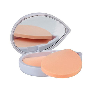 Heart Shape Latex Puff Powder Foundation Puff Makeup Mirror and Puff Set