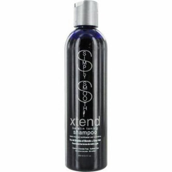 Simply Smooth Xtend Keratin Toning Shampoo for Shades of Blonde-Gray Hair 8.5 oz