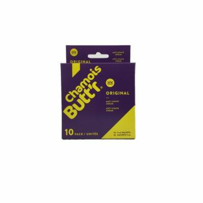 Chamois Butt'r Original Anti-Chafe Cream, 10-pack of 9mL packets