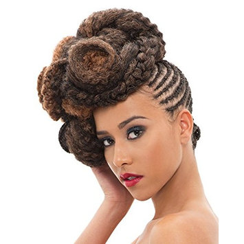 Janet Collection 3X Caribbean 100% Kanekalon Synthetic Hair Braid - Afro Twist 80