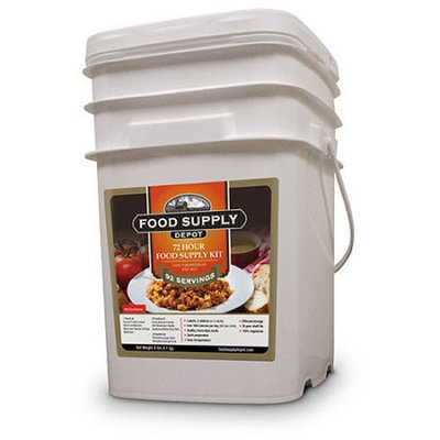 Stansport Food Supply Depot 72 Hour Plus One Person Food Supply Kit
