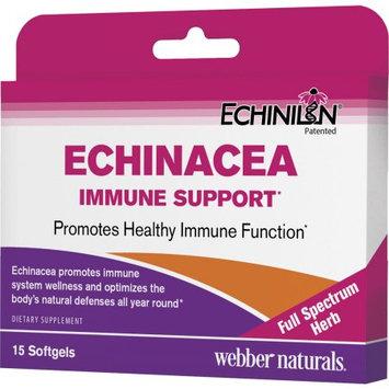 Webber Naturals Echinacea Immune Support, 15 Ct