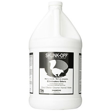 Skunk-Off Pet Shampoo, 1-Gallon