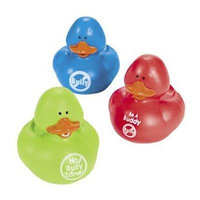 Anti-Bully Bullying Campaign Rubber Ducks -12 ct