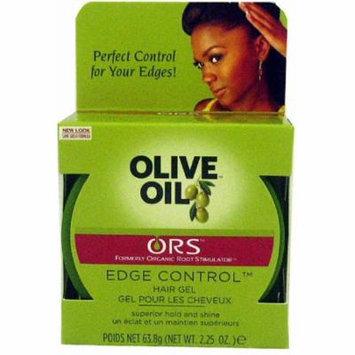 Organic Root Stimulator Olive Oil Edge Control Gel, 2.25 oz (Pack of 6)