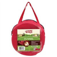 Hagen Living World Tunnel - Medium - Red & Gray