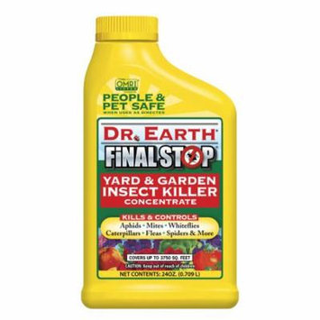 Dr. Earth Organic & Natural Final Stop Yard & Garden Insect Killer, 24 oz Concentrate