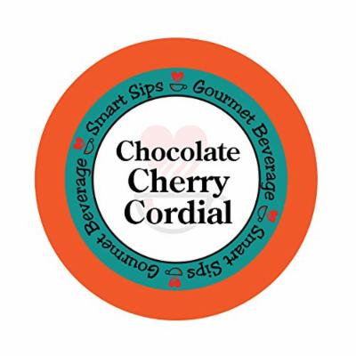 Smart Sips, Chocolate Cherry Cordial Coffee, 24 Count Compatible With All Keurig K-cup Brewers