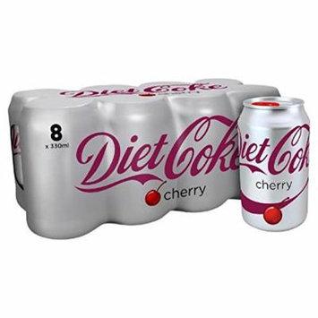 Diet Coke with Cherry 8 x 330ml
