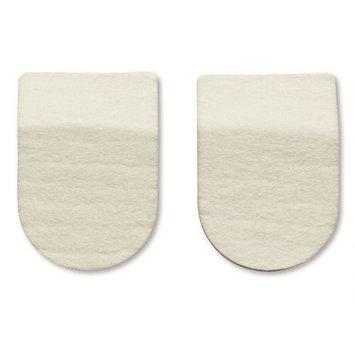 HAPAD Heel Pads, 2 x 3/16 inch, pack of 3 pairs