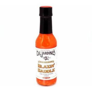 D.L. Jardines Blazin' Saddle Habanero XXX Hot Sauce 5 oz(Pack of 12)