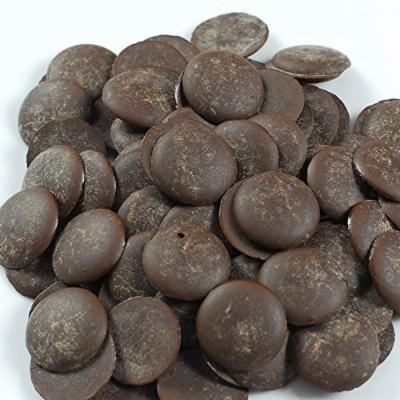 Noel Dark Chocolate Pistoles - Semisweet 55%, Classique - 1 box - 11 lb