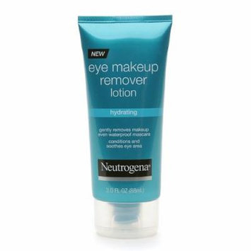 Neutrogena Hydrating Eye Makeup Remover Lotion-3 oz (Pack of 4)