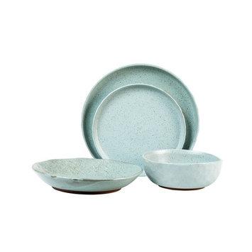 Kaya Blue 16-Piece Dinnerware Set