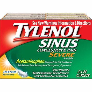 Tylenol Sinus Congestion & Pain Severe Caplets, 3 pk./24 ct.