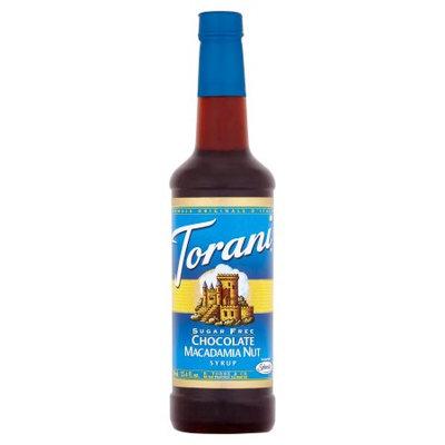 Torani Sugar Free Chocolate Macadamia Nut Syrup 750ml