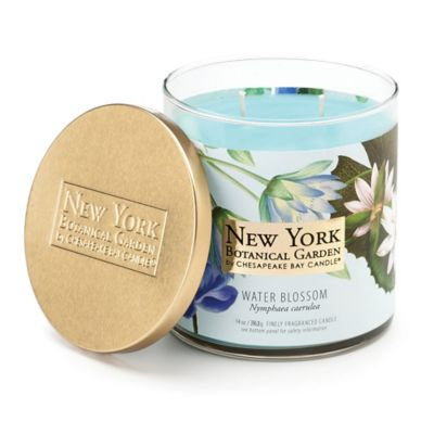 The New York Botanical Garden Water Blossom 2-Wick Jar Candle