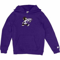 Russell NCAA Kansas State Wildcats, Girls Pullover Hood with Pocket